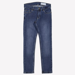 Jeans super slim stretch blå denim