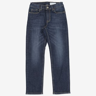 Jeans regular mellan denim
