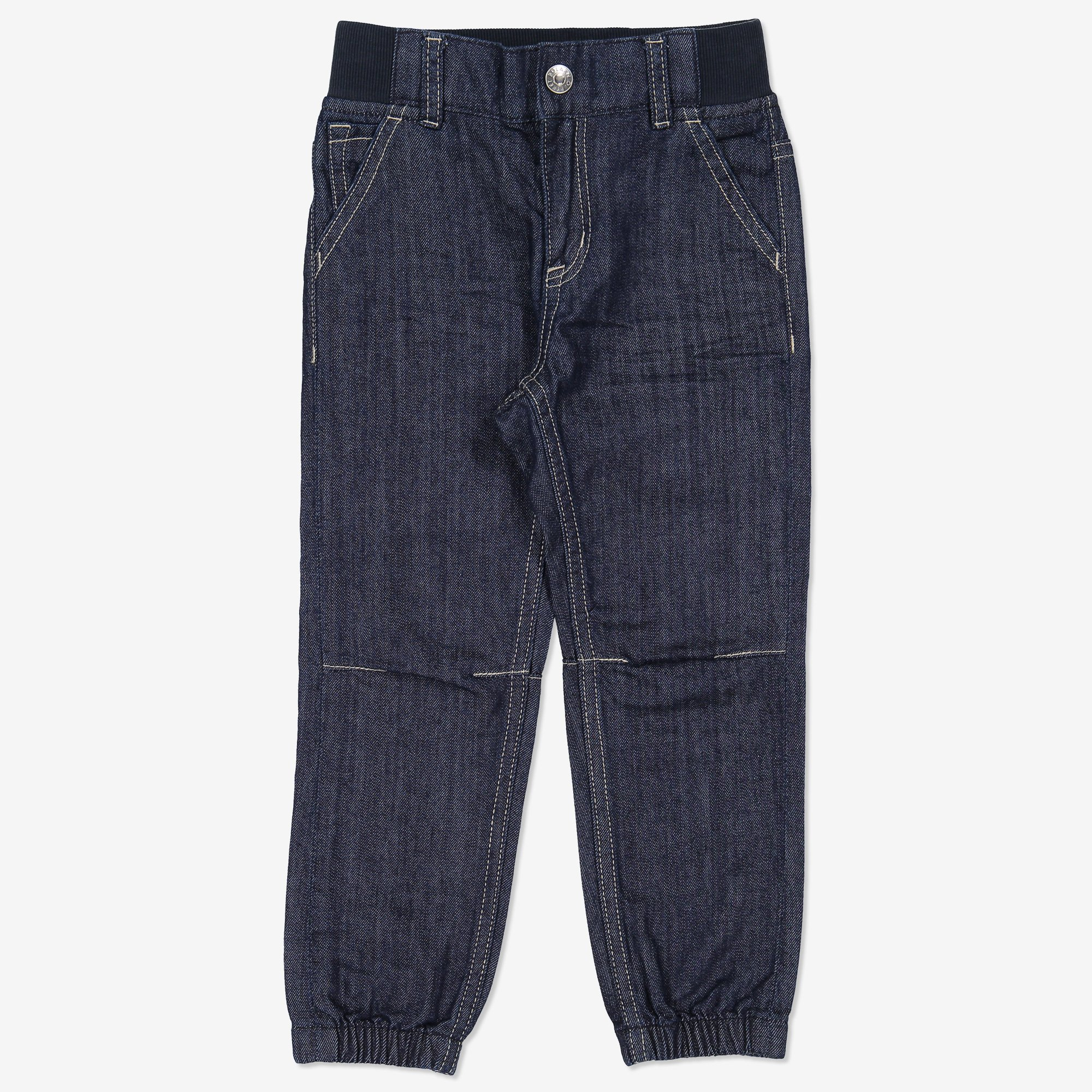 Jeans loose mörk denim