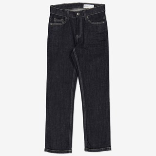 Jeans regular mörk denim