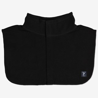 Polokrage fleece svart