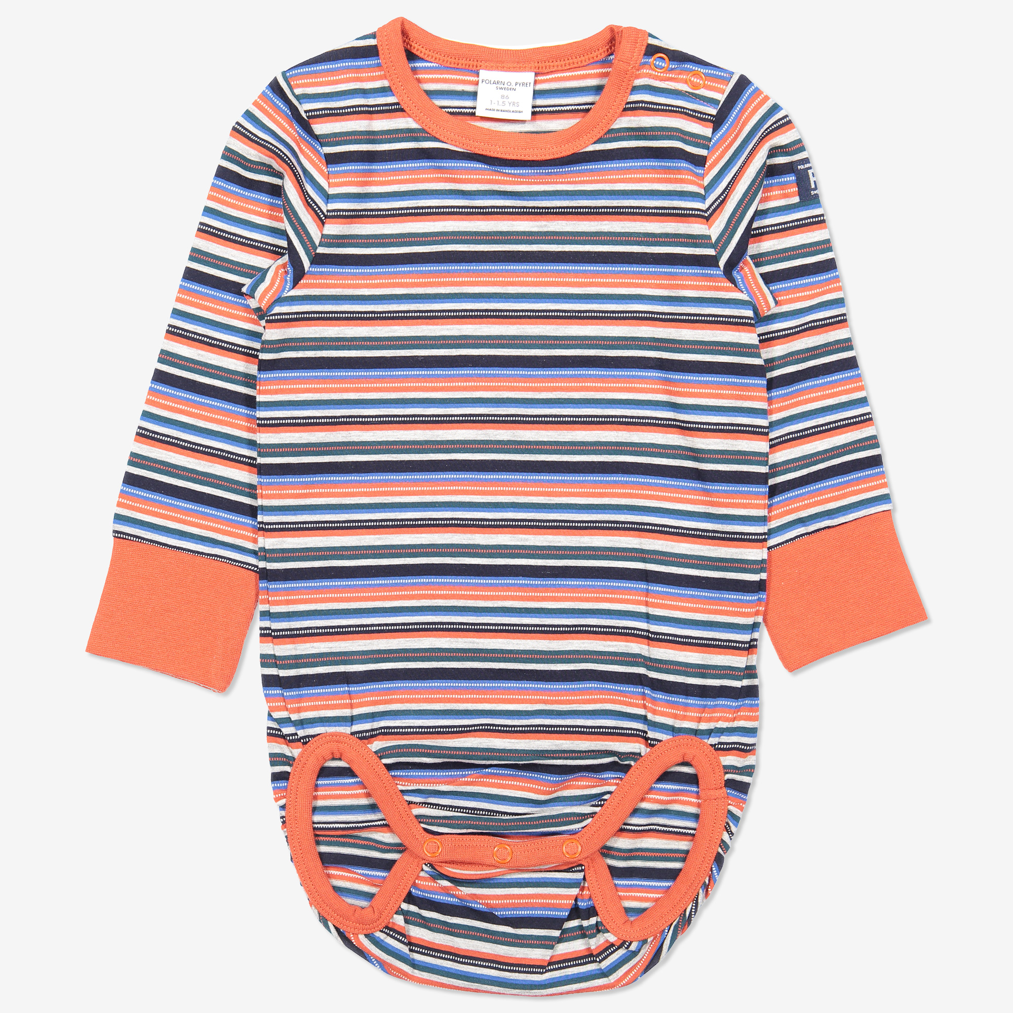 Multirandig body baby orange