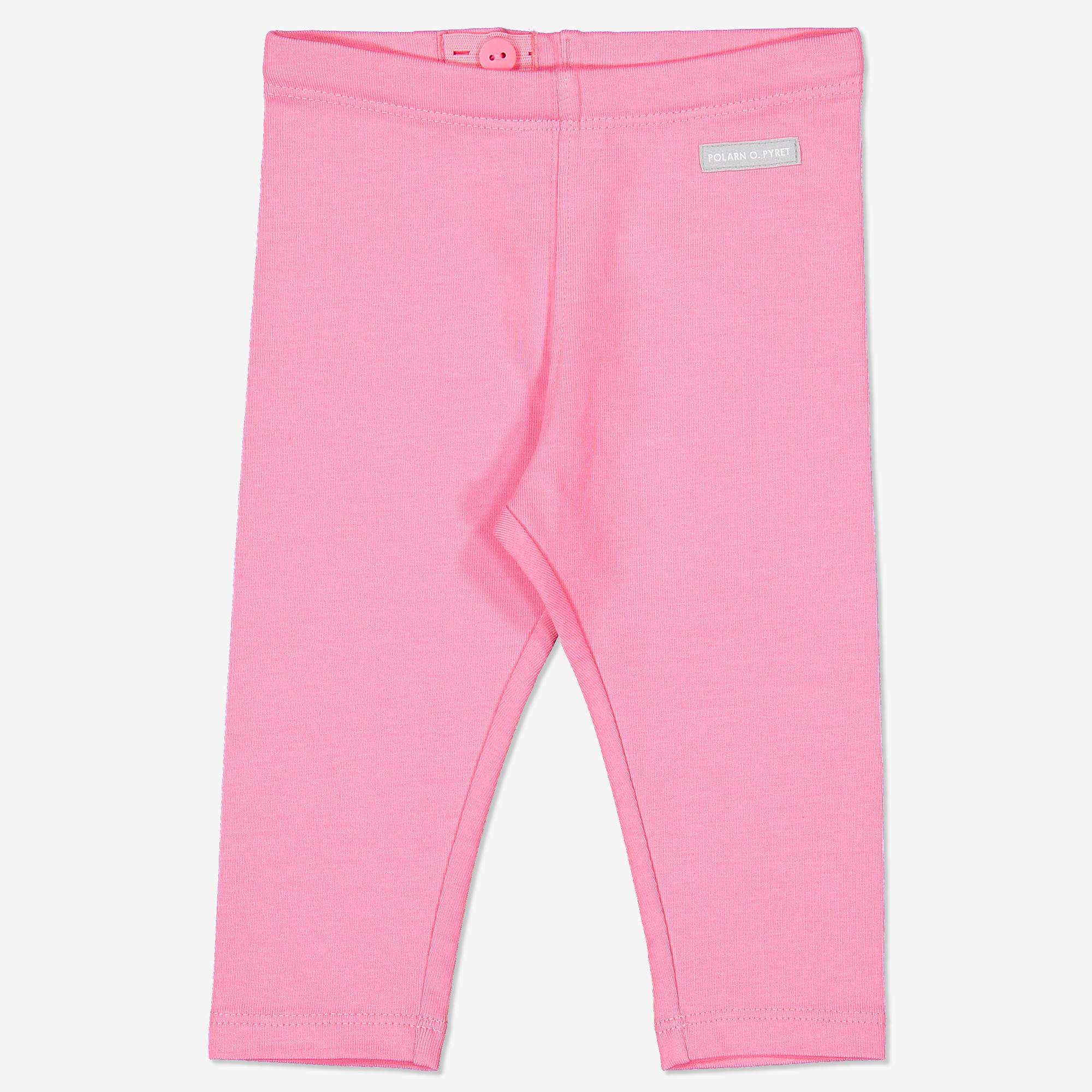 Enfärgade leggings baby rosa 49f6f621a9682