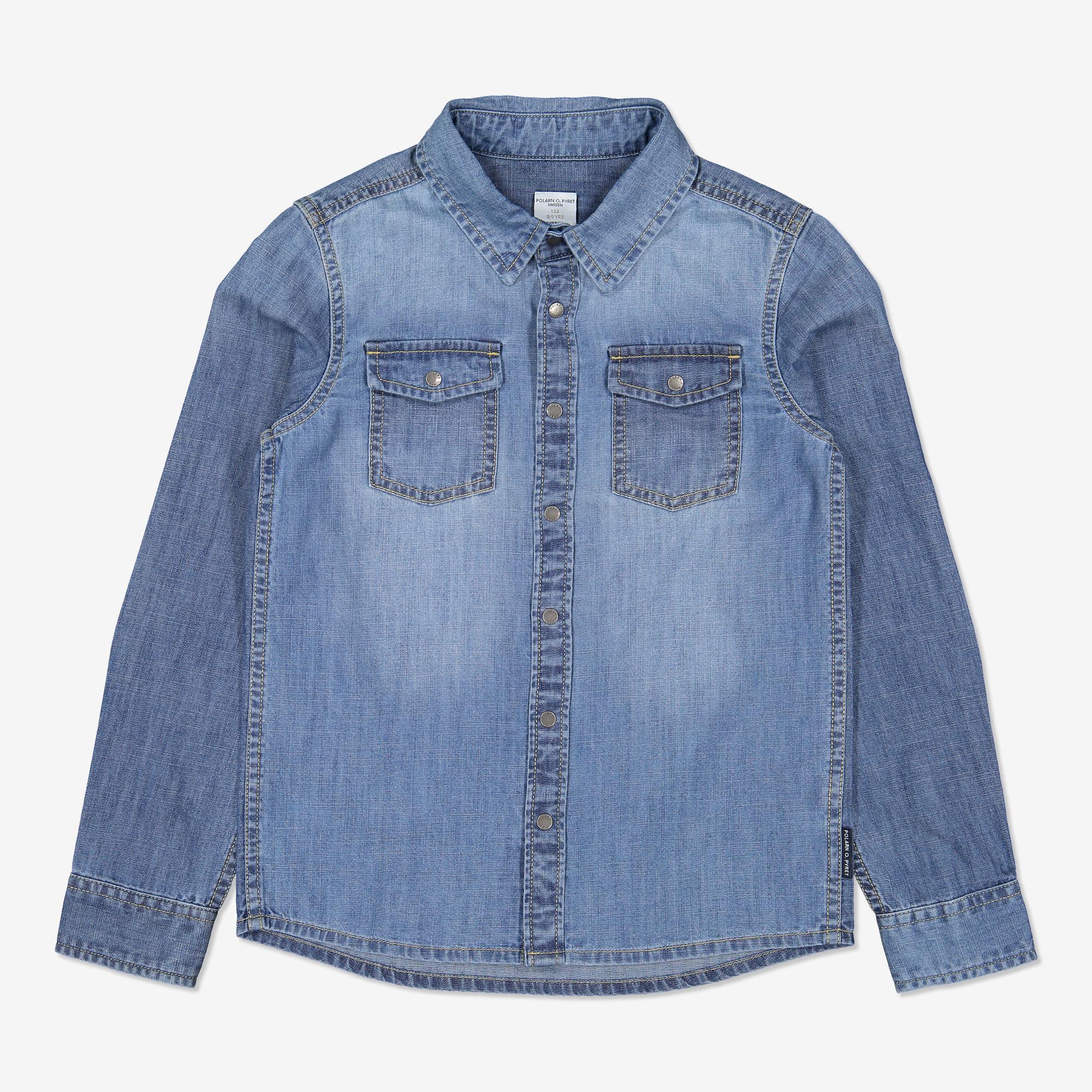 Jeansskjorta denim