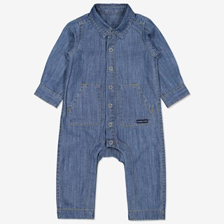 Jumpsuit denim baby denim
