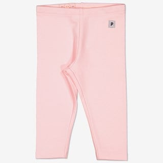 Enfärgade leggings rosa