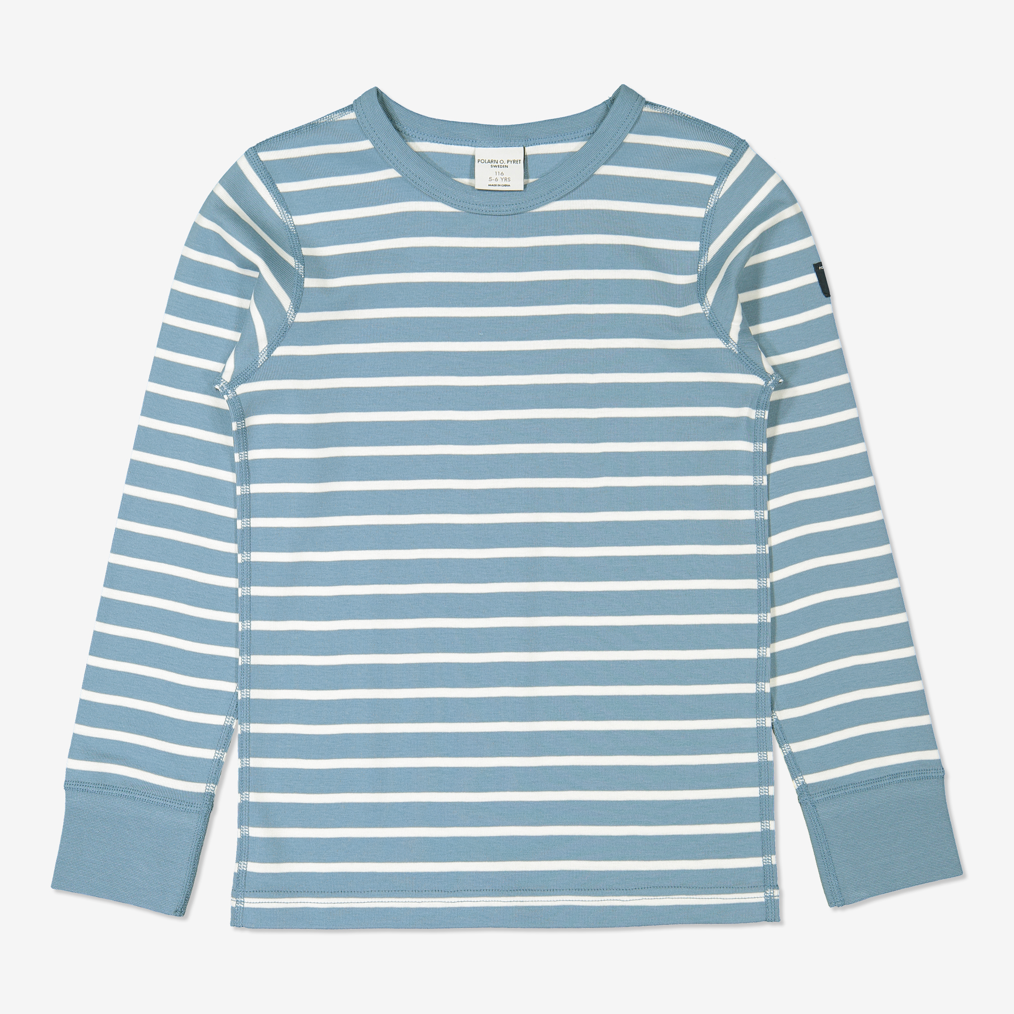 Randig tröja blå