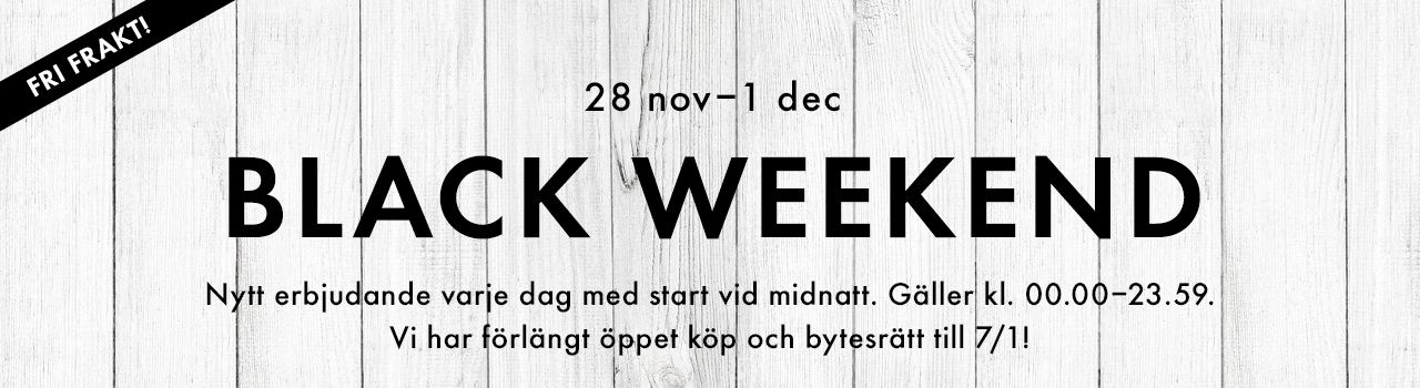 Black Weekend barnkläder